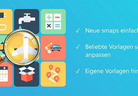 Die smapOne Template Gallery: App-Vorlagen aus der Spielkiste für individuelle Business Anwendungen