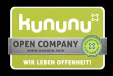 kununu Arbeitgeber-Award Open Company