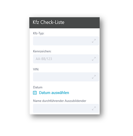 Usability Tipp: Platzhalter für Datenstruktur