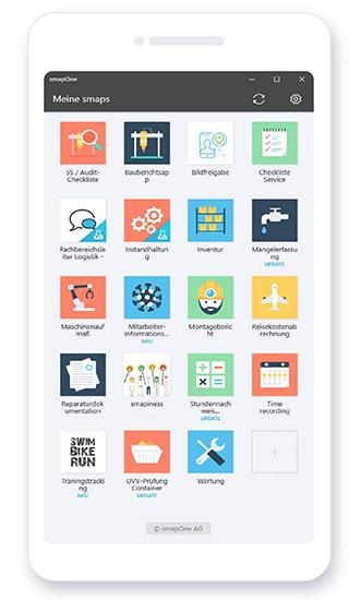 smapOne App - Meine smaps