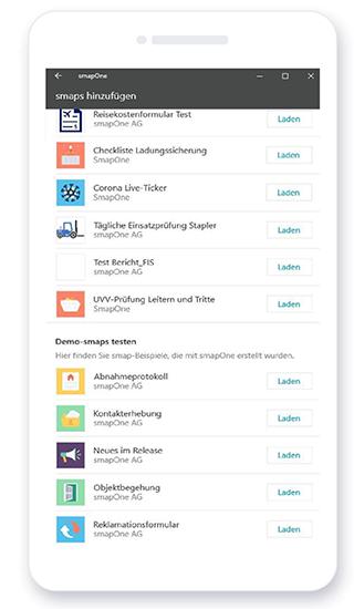 smapOne App - Was sind Demo-smaps?