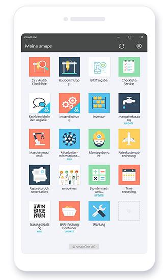 smapOne App - Nutzeransicht