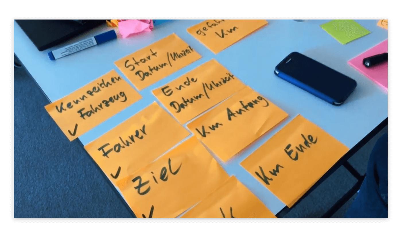 Hackathon-Gruppe erarbeitet eine App-Idee