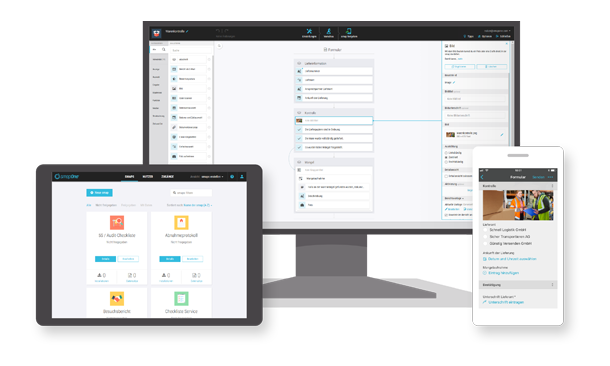 Digitalisierung Maschinenbau Beispiele: App-Baukasten smapOne