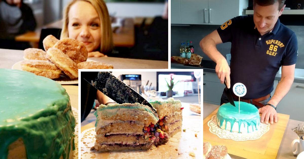 5 Jahre smapOne | Geburtstagskuchen