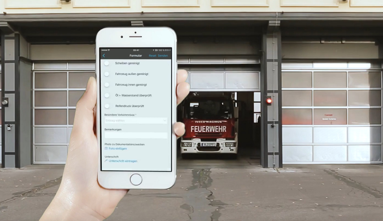 Fahrzeugkontrolle per App | hhp berlin
