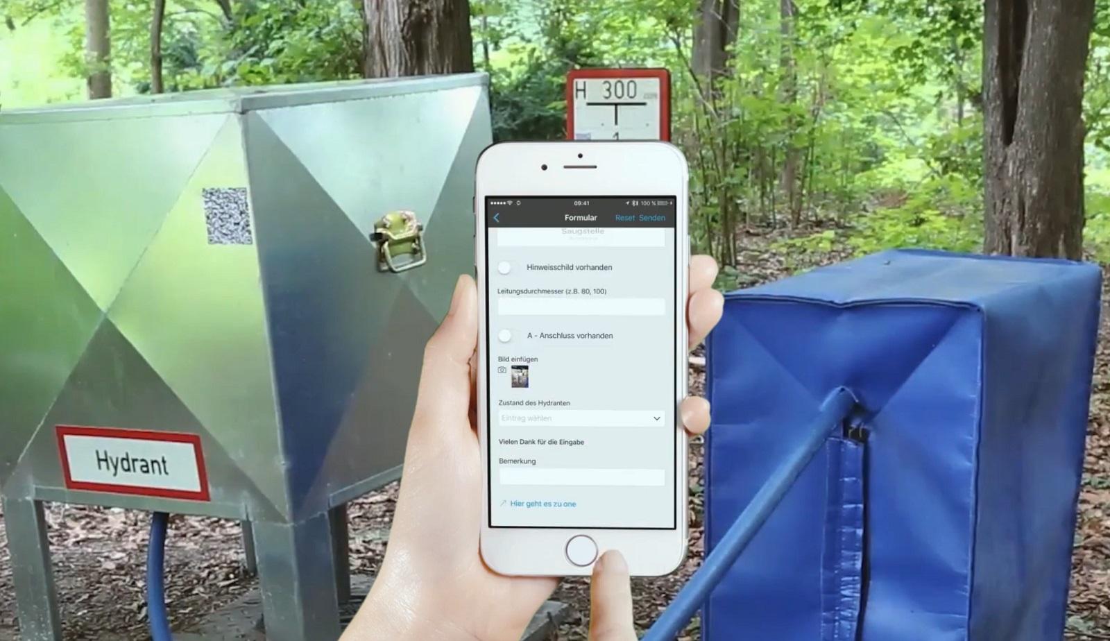 Hydrantenkontrolle per App | hhp berlin
