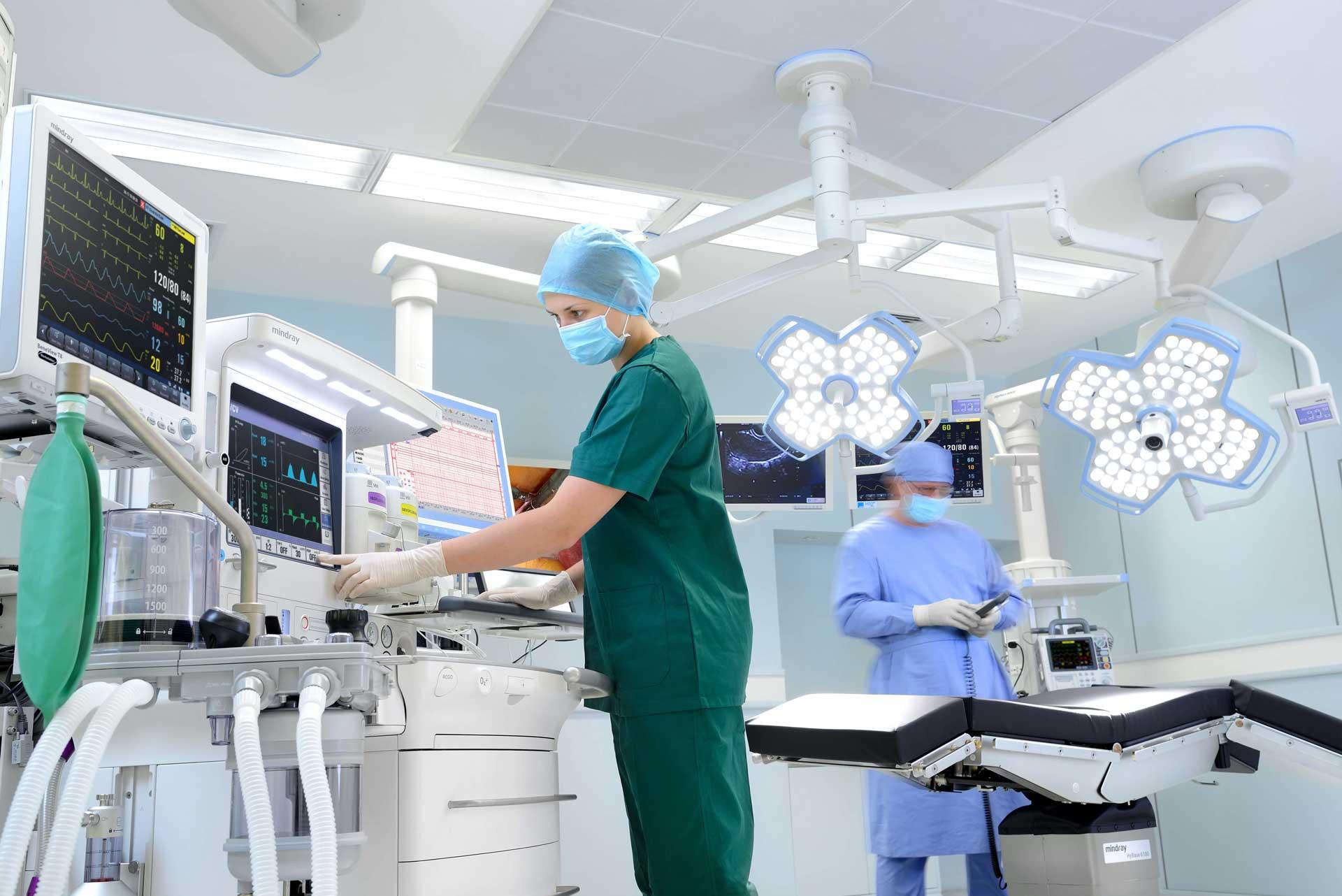 Mindray Medizintechnik im Klinikum