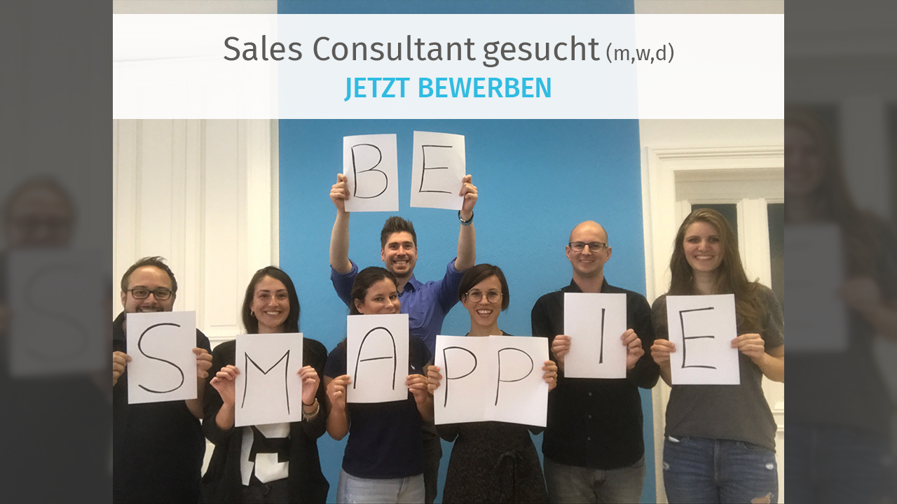 Sales Consultant gesucht | smapOne